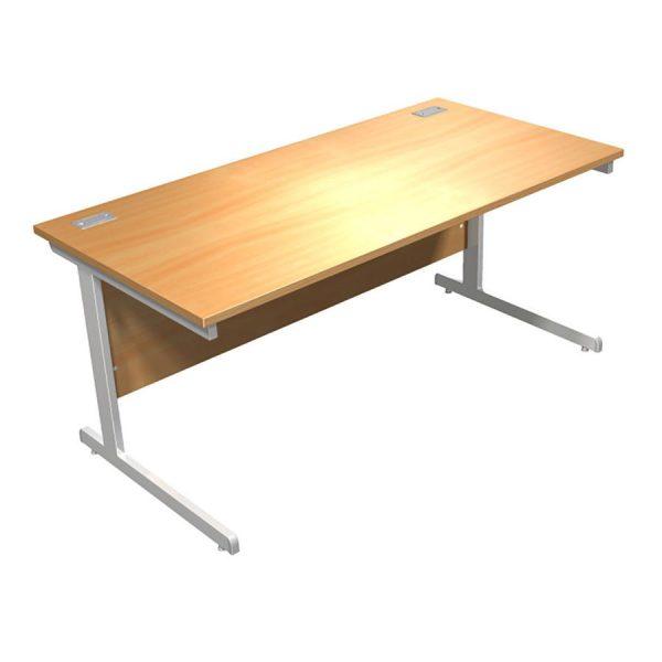Rectangular Focus 100 Cantilever Desk