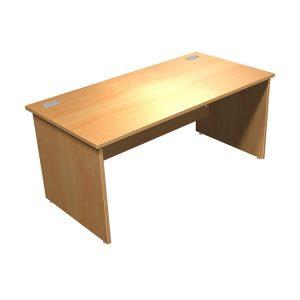 Rectangular Focus 100 Panel End Desk