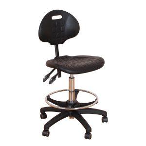 BAL401PUD Polyurethane Draughtsmans Chair