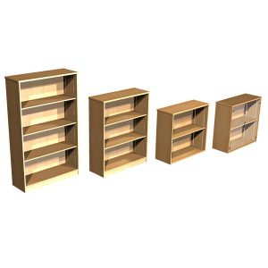Focus BALOFB Open Fronted Bookcase Unit