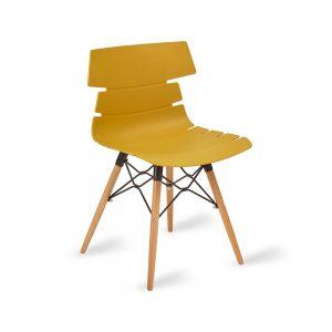 Hoxton Chair K Frame Mustard