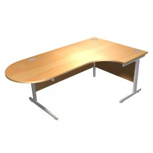 Integrated-Cantilver-Desk
