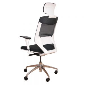 Vogue - White Backrest